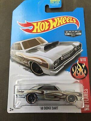 Hot Wheels 2017 '68 Dodge Dart Zamac