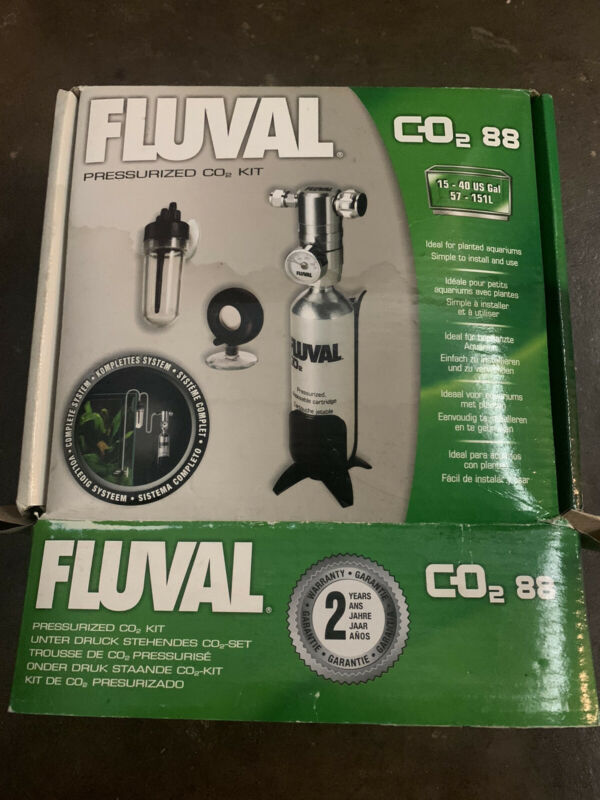 Fluval Pressurized 88g-CO2 Kit - 3.1 Ounces