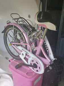 Folding bicycle - Pink Helensvale Gold Coast North Preview