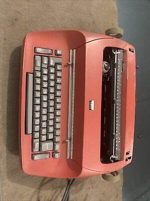 Vintage 1960s Ibm Selectric Model 71 Electric Typewriter Red Parts Repair 96