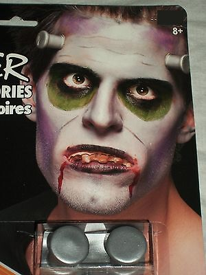 Halloween Monster Latex Blood Teeth Bolts Costume Makeup Theater Stage