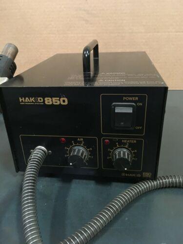 Hakko 850 Hot Air Rework System Soldering Desoldering Station