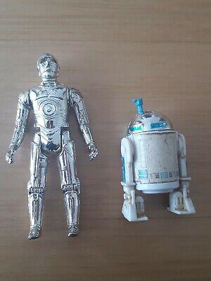 Vintage R2D2 & C3PO STAR WARS figures
