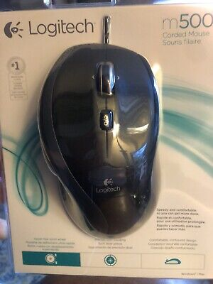 New Logitech Corded Mouse M500
