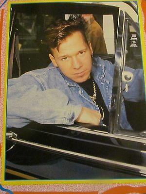 Donnie Wahlberg, New Kids on the Block, Full Page Vintage Pinup