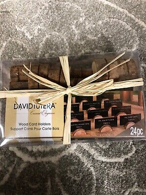Card Holders For Wedding (Wedding Place Card Holders (wood) for Reception Tables by David Tutera 24)
