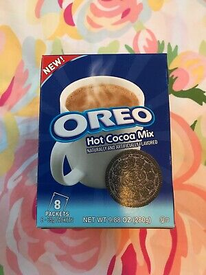 Oreo Hot Cocoa Mix, Hot Chocolate Powder, 9.88 Ounce 8 Packets Best Buy