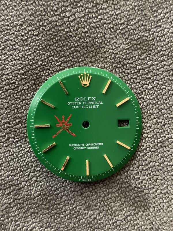 Rolex 1601/1603.  None quick Set Dial For  36mm Refinished