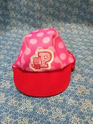 Toddler Girls' Peppa Pig Safari Sun Hat - Pink/Red One - Peppa Pig Hat