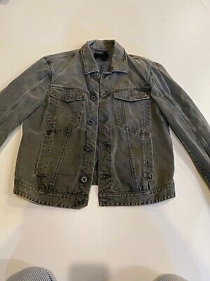 Preowned $550 Diesel Black Gold Mens Jenry Giacca Size L made in