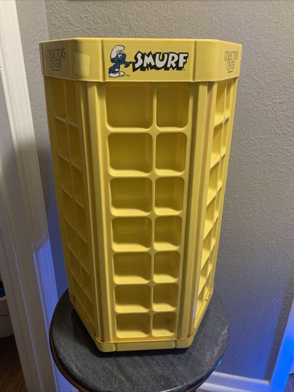 Smurf Display Case