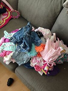 0-3 & 3-6 months girl clothes