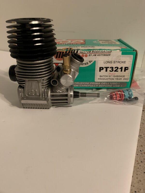 NEW Novarossi .21 top engine PT321P Long Stroke (Hot Mods)