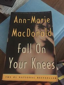 Fall on your knees by Ann-Marie MacDonald paperback & hardcover