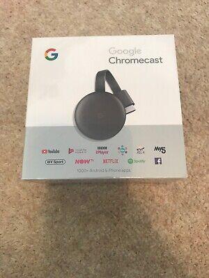 google chromecast 3rd generation Brand New, Sealed