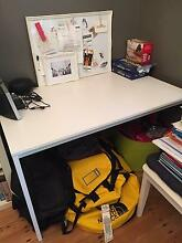 ikea white table and chair Stanmore Marrickville Area Preview