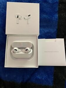 This is Apple AirPods pro very new just opened from the box.