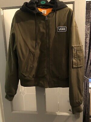 Ladies Vans Bomber Jacket Size Large