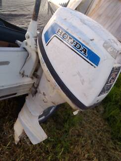 Honda 75 Twin Outboard Motor Kensington Norwood Area Preview