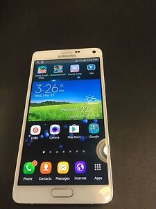 Samsung galaxy note 4 32gb white with pen unlocked