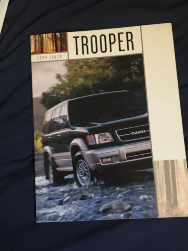 1992 Isuzu Trooper SUV USA Market  Brochure Catalog Prospekt