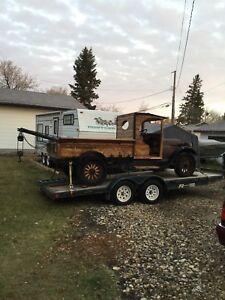 1928 ACME Flyer C Cab tow truck - mid reconstruction project