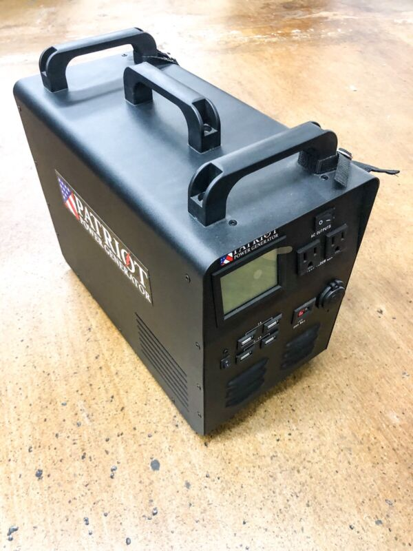 Tested Patriot 1500W Power Generator Never used - No panels
