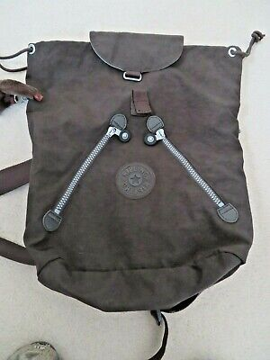BNNT Kipling Large Brown Fundamental Backpack was £95