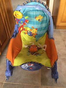 Fisher price infant toddler rocker with 1 toy