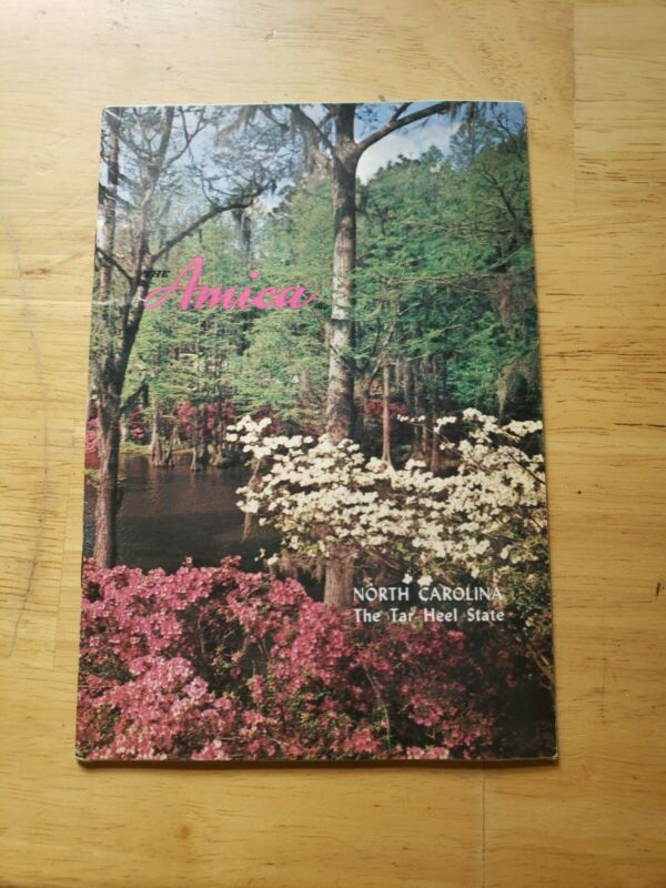 Vintage The Amica Book North Carolina The Tar Heel State