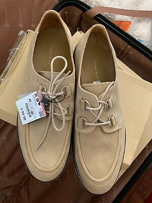 Zara Man Sneakers Shoes 44 Brown