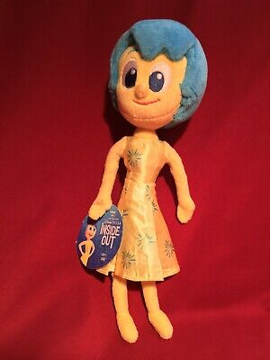 "Disney Pixar Inside Out Movie 9"" JOY PLUSH FIGURE DOLL *NEW with Tags* Tomy 2015"