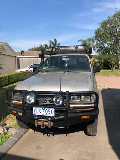 1996 Toyota landcruiser DX HZJ80 Hampton Park Casey Area Preview