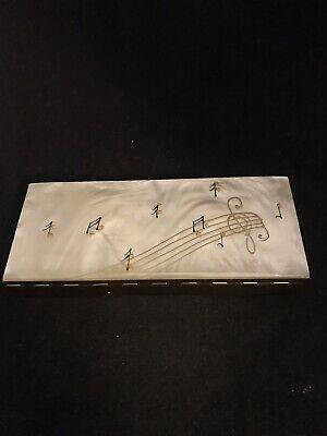 Rare Vintage Cigarette Case Music Box in Box Musically