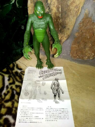 BILLIKEN CREATURE FROM THE BLACK LAGOON, 1982/89 PRO BUILT PLASTIC FIGURE, MINT