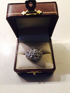 MENS  14C WHITE GOLD RING FOR SALE  Edgecliff Eastern Suburbs Preview