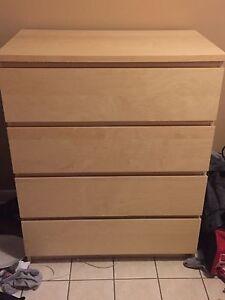 4 drawer dresser chest
