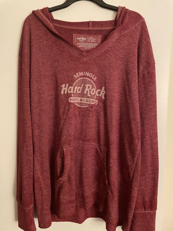 Hard Rock Cafe Sweatshirt XXL NWT
