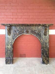 Plaster fireplace mantlepiece surround Bayswater Bayswater Area Preview