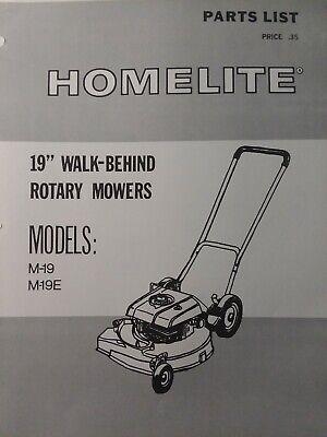 - Homelite Walk-Behind 19