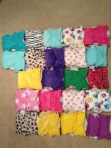 Multi fit baby behind cloth nappies Karalee Ipswich City Preview