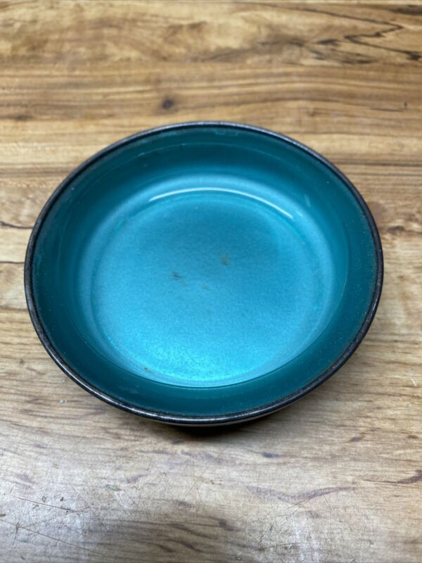Vintage FB Rogers Silver Co Ashtray, Silver Blue Glass Insert, Hallmarked 1883