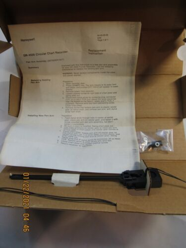 Honeywell DR-4500 Circular Chart Recorder Replacement Pen Arm Assembly 30756304