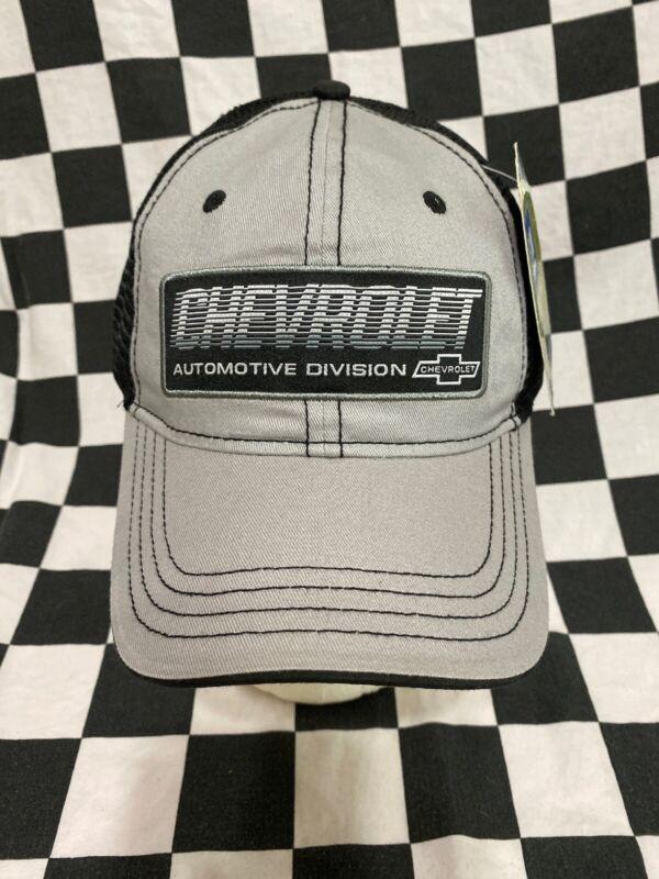 Vintage Chevrolet Automotive Division Mesh Trucker Adjustable Cap / Hat GM