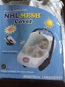 New in package Montreal Canadiens Baby Mesh cover