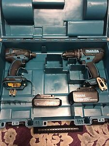 Makita 2 drills and 2 batteries with box Canley Vale Fairfield Area Preview