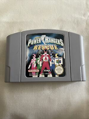 Power Rangers Light speed Rescue for Nintendo 64 N64. Cart Only. Pal