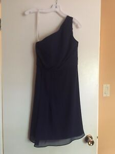 Brand new with tags size 4 navy blue bridesmaid dress