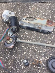 CJ7 wiper motor and trans