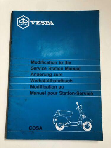 Piaggio Vespa PX Cosa Reparaturanleitung Reparatur-Handbuch Reparaturbuch Buch !